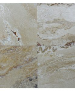 Leonardo Honed Filled Travertine Tiles 18×18